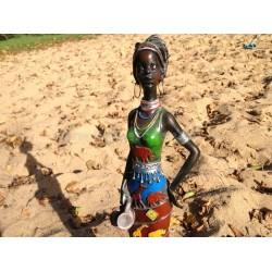 Afrikan Style Dekofigur